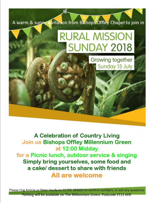 Bishops Offley Rural Mission