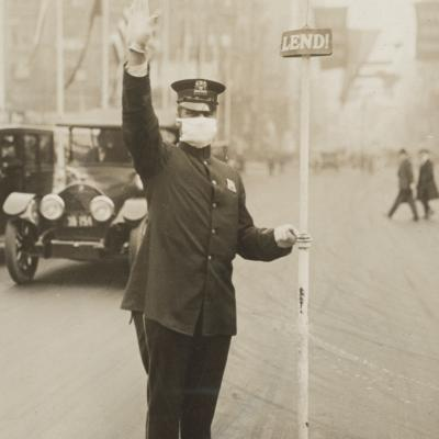 Medical_Department_-_Influenza_Epidemic_1918_-_Masks_for_protection_against_influenza-_Traffic__cop__in_New_York_City_wearing_gauze_ (2)